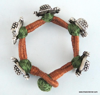 Ancient Antique Ethnic Tribal Old Silver Bracelet India 3 • CAD $213.05