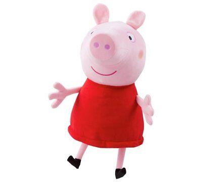 Peppa Pig Géant Parlant Peppa Peluche Jouet à Câliner Poupée 40cm