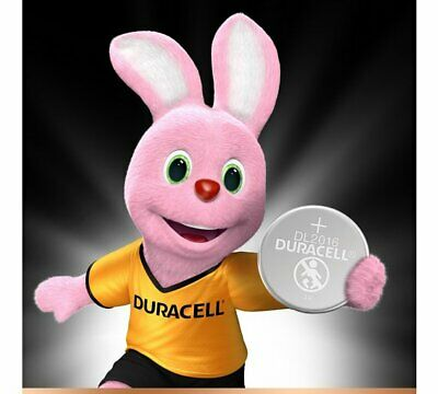 10 x Duracell CR2016 3V Lithium Coin Cell Battery 2016, DL2016, BR2016, SB-T11 3