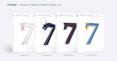 BTS MAP OF THE SOUL : 7 Album CD+Book+M.Book+Lyric+P.Card+Post+Sticker+F.Poster 2