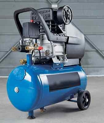 2.5Hp 24Ltr 8 Bar 9.3 Cfm - -  Air Compressor 6