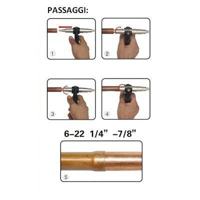 3S Espansore Manuale Allarga Tubi A Pinza Per Tubo Rame 7 Misure Disponibili New 2
