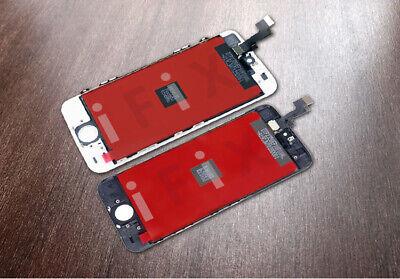 ECRAN LCD iPhone SE 5 s VITRE TACTILE NOIR BLANC SUR CHÂSSIS 3