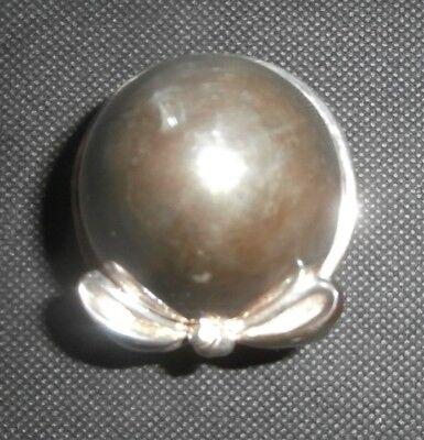 uovo - ovetto - fiocco - placcato - argento 990 - R 10-13 Gr. - firenze 3