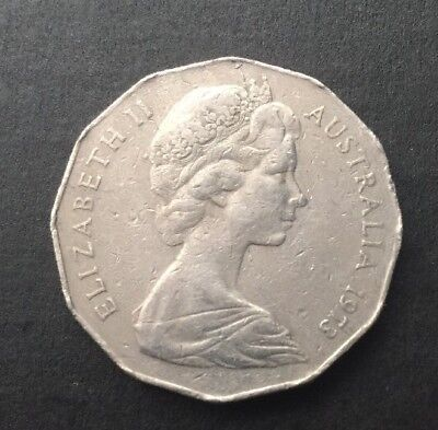 1973 Australian 50 Cent Coin - Low Mintage 5