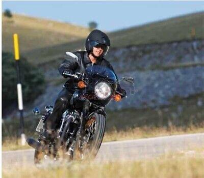 Coppia specchietti moto cafe racer custom vintage guzzi American Oval omologati