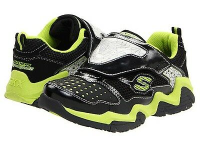 a6dd268fb801 ... SKECHERS S-LIGHTS LUMINATORS Boys Youth Light-Up Athletic Shoes  Sneakers NWT  55 2