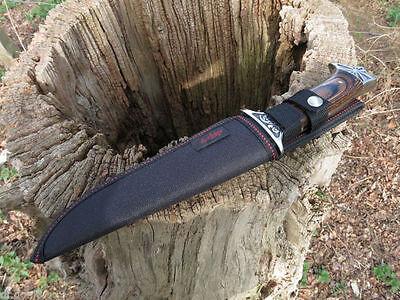 Jagdmesser Messer Knife Bowie Buschmesser Damast  Cuchillo Hunting Neu 2
