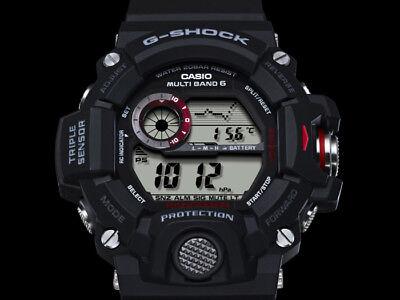 a8a8a50b44222d ... Casio G-Shock Rangeman Gw-9400-1Er Triple Capteur Energie Solaire,radio