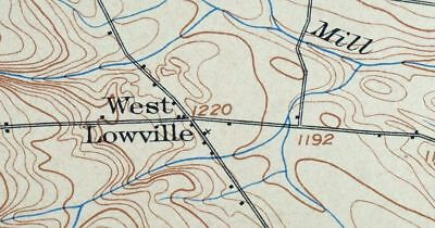 1904 Carthage New York Lowville Rare Antique 15-minute USGS Topographic Topo Map 4