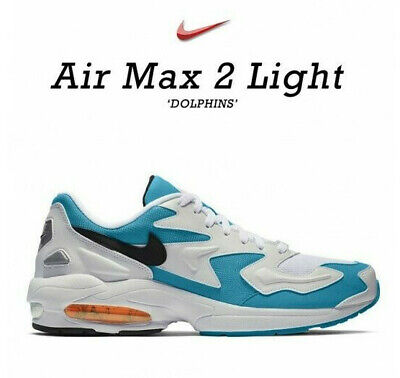 NIKE AIR MAX 2 Luce Qs Uomo Scarpe Sportive UK 8.5 USA 9 Eu