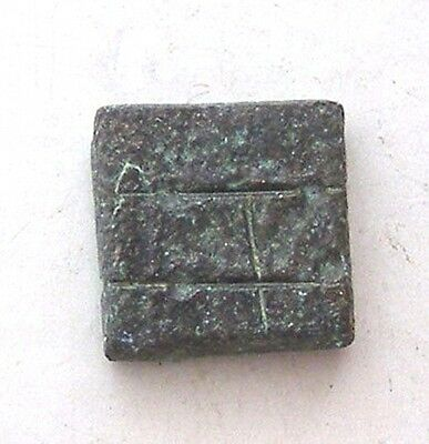 ANCIENT ROMAN BYZANTINE BRONZE WEIGHT great collection!!! #AR444-447 3