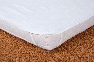 Waterproof Mattress Protector 140 x 70 cm /Baby Cot Breathable Terry Sheet Cover
