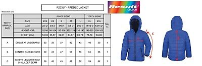 RESULT Kids Ages 2-14 - Coat Jacket with Hood, Insulated Windproof Showerproof * 2