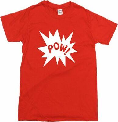 Pow! T-Shirt - Retro 60's, 70's, Pop Art, Comic Book Style, Various Colours 2