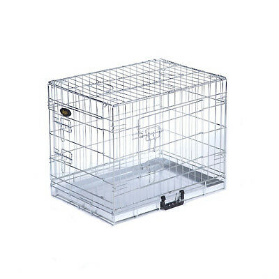 Dog Cage Puppy Training Crate Pet Carrier - Small Medium Large Xl Xxl Cages 2