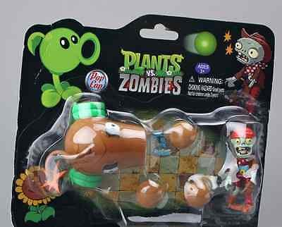 Zombies 2 Figure Snow Pea Coconut Cannon Peashooter Kids Gift Plants vs