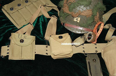 WWII US ARMY PARATROOPER RIGGER UNIVERSAL AMMO POUCH