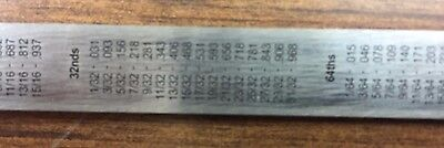 "2 Stainless Steel Pocket Rule Fabrication Tools 6"" Inch Pocket Ruler 4"