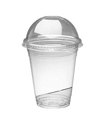 Disposable Smoothie Cups with Domed Lids perfect for slushies  8/10/12/16/20oz 2
