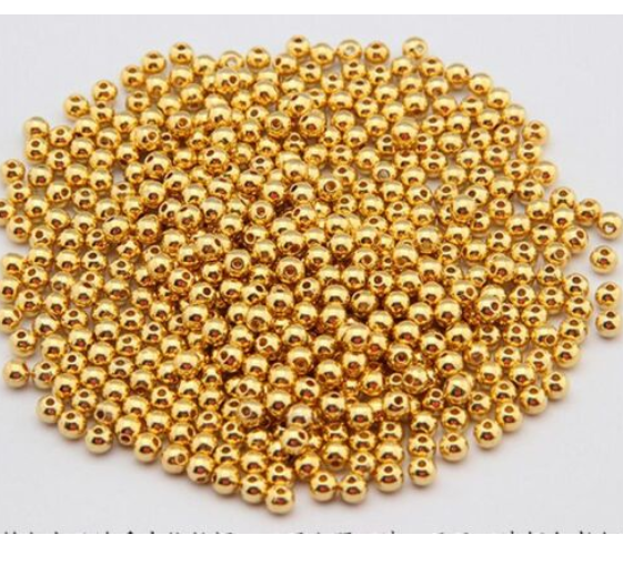 Wholesale Lot Silver Metal Round Spacer Beads Jewelry Craft 2mm 3mm 4mm 5mm 6mm 8