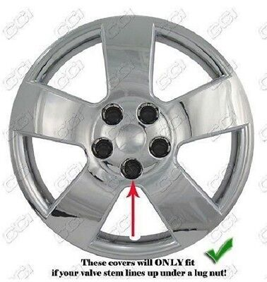 NEW 2006-2011 CHEVROLET HHR Hubcap Wheelcover SET CHROME Chevy