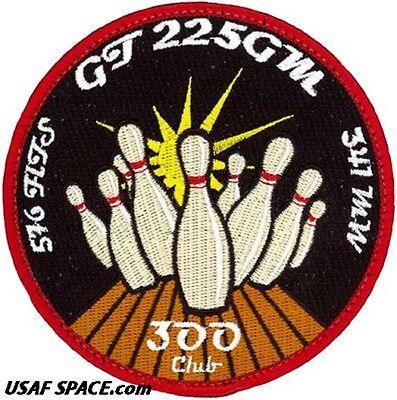 MM-III GLORY TRIP 228GM USAF 576th FLIGHT TEST SQ THE GREAT LAUNCH VAFB PATCH