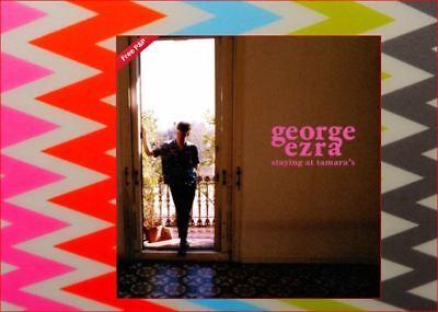 "George Ezra New Sealed Fast Freepost ""Staying At Tamara's"" CD Shotgun Paradise 10"