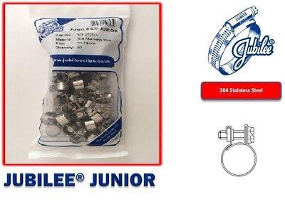 Stainless Steel Jubilee Hose Clip Mini Fuel Line Clamp Diesel Petrol Pipe Clamps 5