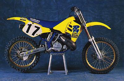 1981 rm250 plastics