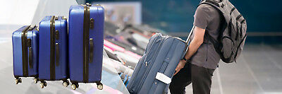 "20"" 24"" 28 inch Lock Travel Luggage Set ABS Lightweight Suitcase Hard Case 9"