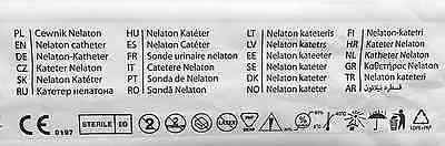 Choice Of Qty & Size Nelaton Urine Collection Catheter Urinary Sterile Drainage