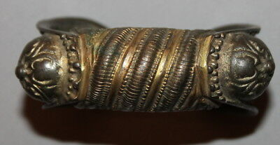 Antique Greek Bronze Fertility Hand Made Bracelet