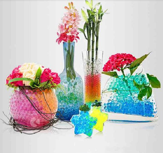 Decoración Arte Mesa Cuentas Bolitas De Agua Hidrogel Floral Manualidades