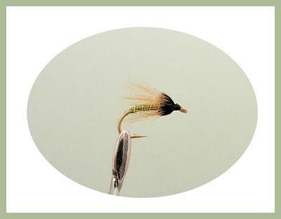 Black Pennel /& Black /& Peacock Mixed Size Wet Trout Flies 18 Pack Zulu