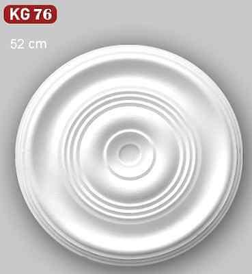2 x Rosette 35x40 cm Deckenrosette Zierprofile Lampenschirm Zierleisten KG075