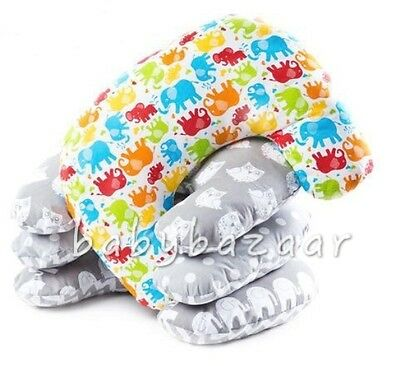 Delux Breast Feeding Multipurpose  Support Pillow  Maternity Nursing  With Cover
