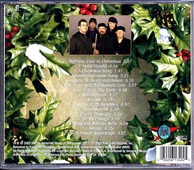 SEALED NEW CD Jethro Tull Christmas Album 2
