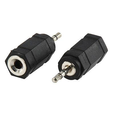 AUDIO ADAPTER SET - 2,5 + 3,5 mm Klinke Stecker auf 2,5 + 3,5 mm Klinke Buchse
