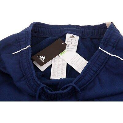 Adidas Core 18 Mens Fleece Tracksuit Jogging Bottoms Joggers Black Navy Grey 7