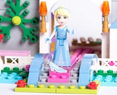 Lego Disney Princess 41055 CINDERELLA'S ROMANTIC CASTLE clock Prince NEW NISB 9
