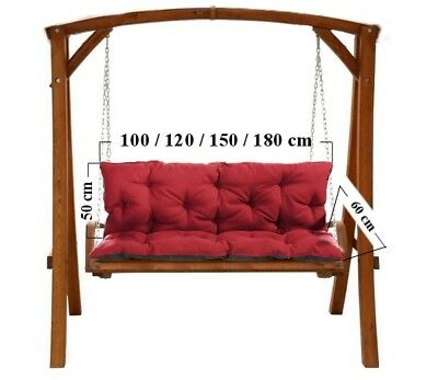 Magnificent Replacement Cushions 1 4Seater For Garden Swing Bench Chair Camellatalisay Diy Chair Ideas Camellatalisaycom