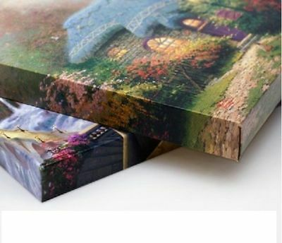 Thomas Kinkade Studios Winnie the Pooh I 14 x 14 Gallery Wrapped Canvas Disney 4