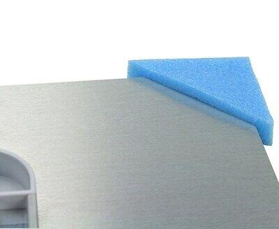 Soft Picture Frame Corner Protectors Blue Pe Foam Slip On Prints Small Panels 3