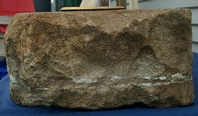 ANTIQUE ARCHITECTURAL USA WHITE HOUSE 1790s AQUIA CREEK VA SANDSTONE ARTIFACT 5