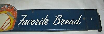 Antique New England Table Joy Bread Country Kitchen Bakery Usa Door Push Sign Us