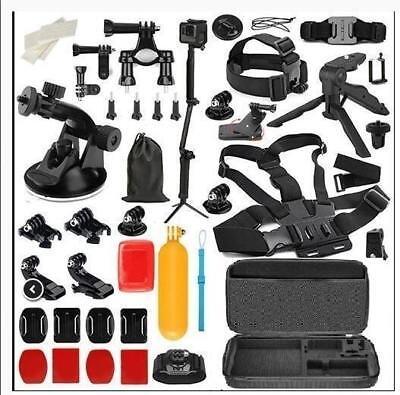Action Camera Accessory Kit for GoPro Hero Xiaomi Yi 4K SJCAM SJ5000 SJ7 Eken H9 3