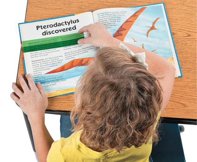 4 x Plastic Highlight Reading Strips: Teacher Resource - see our full range 2