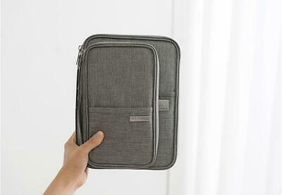 Travel Wallet Family Passport Holder Accessories Document Organizer Bag Case 6