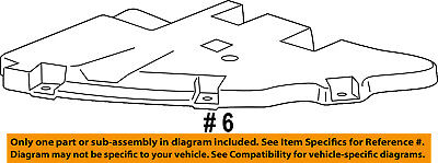 GMC GM OEM 15-18 Yukon XL Front Bumper-Bumper Cover Guide Left 22806324